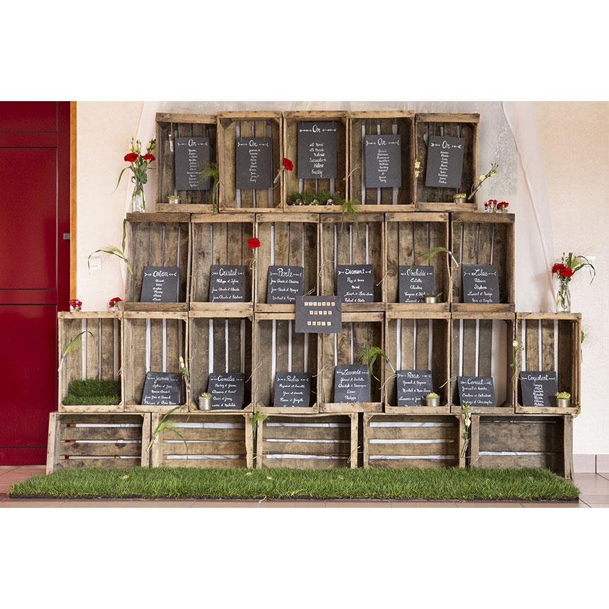 caisse en bois o bonheur des dames. Black Bedroom Furniture Sets. Home Design Ideas